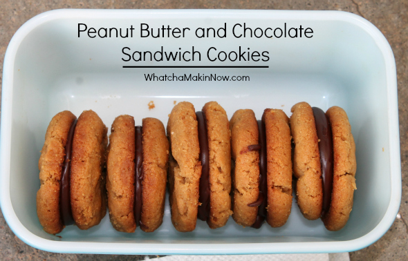 Whatcha Makin' Now?: Peanut Butter and Chocolate Sandwich Cookies ...