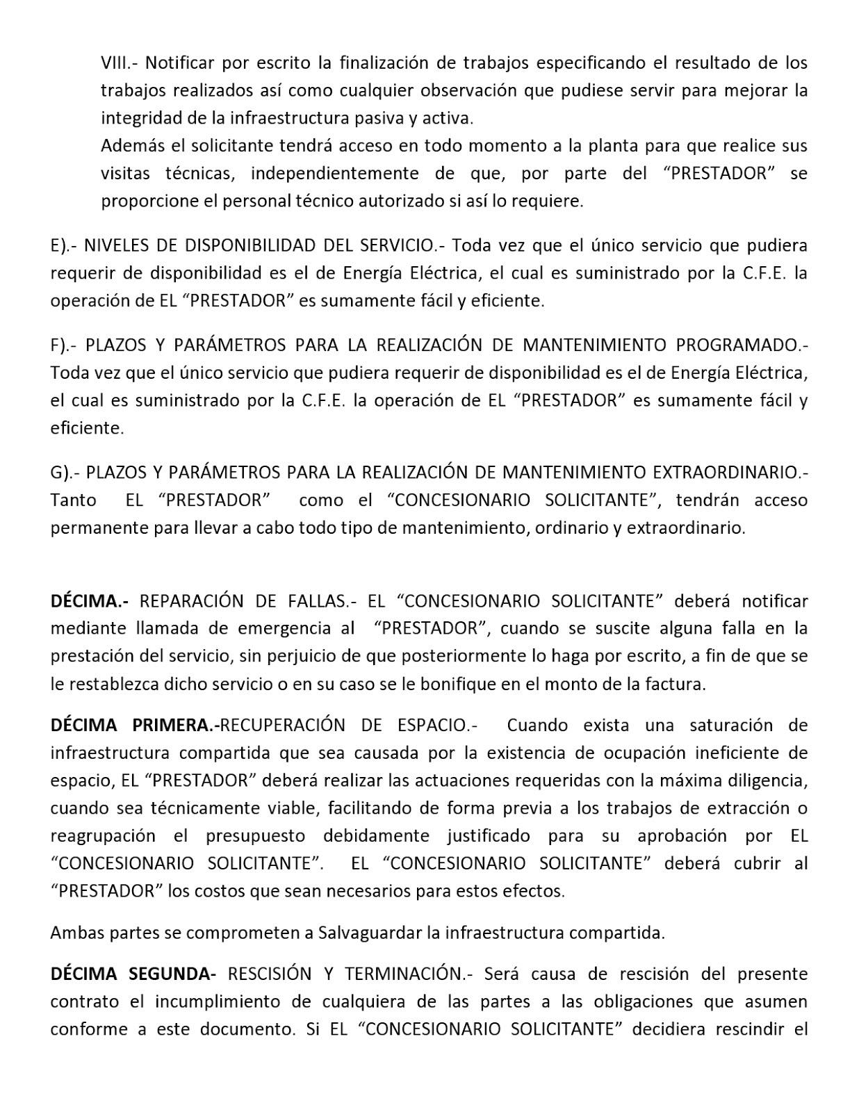 Oferta de la Red Pública 09
