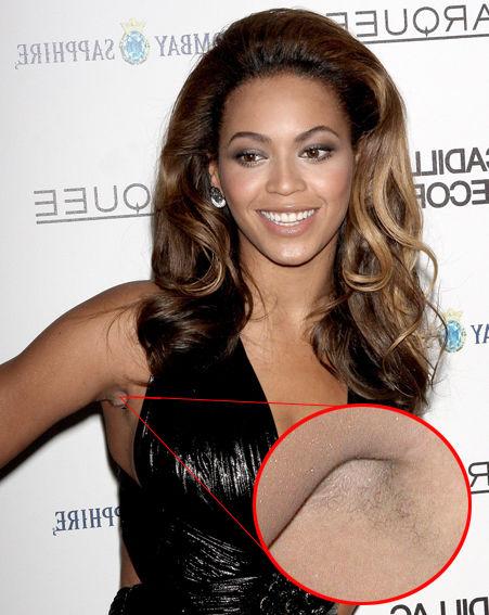 hairy pits Beyonces
