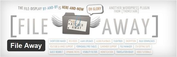 File Away plugin for embedding PDF files