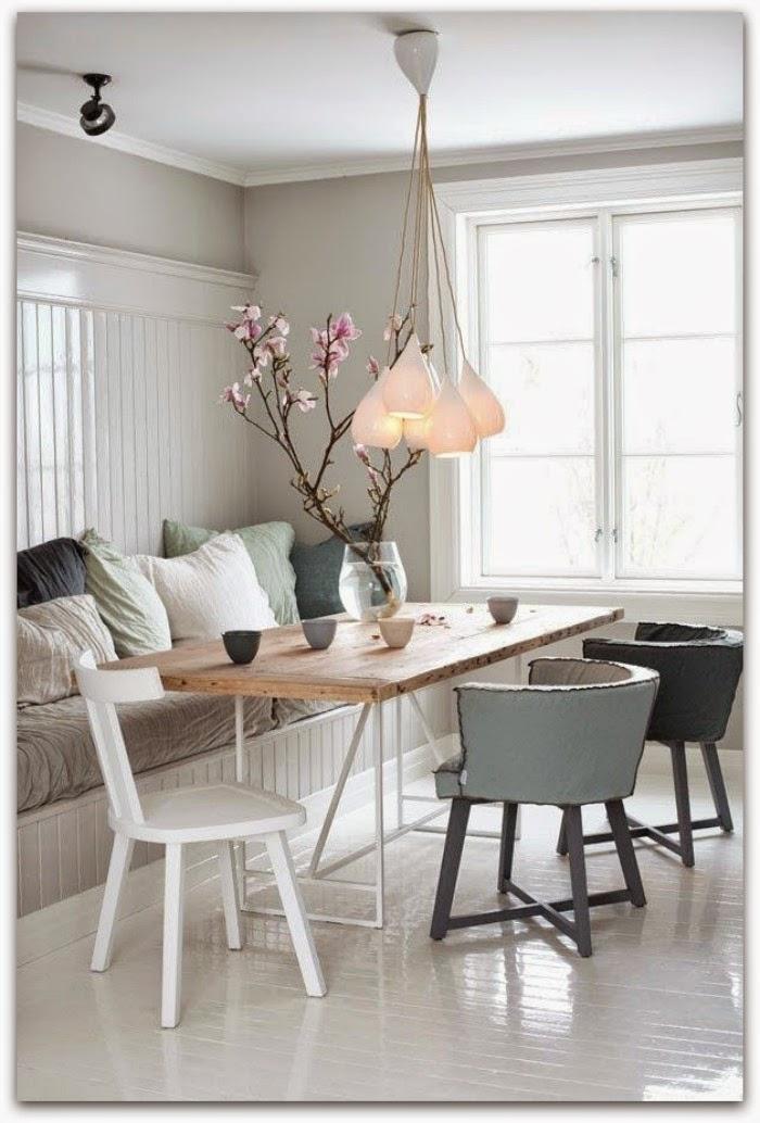 En casa de Oly: 10 ideas de lámparas de comedor
