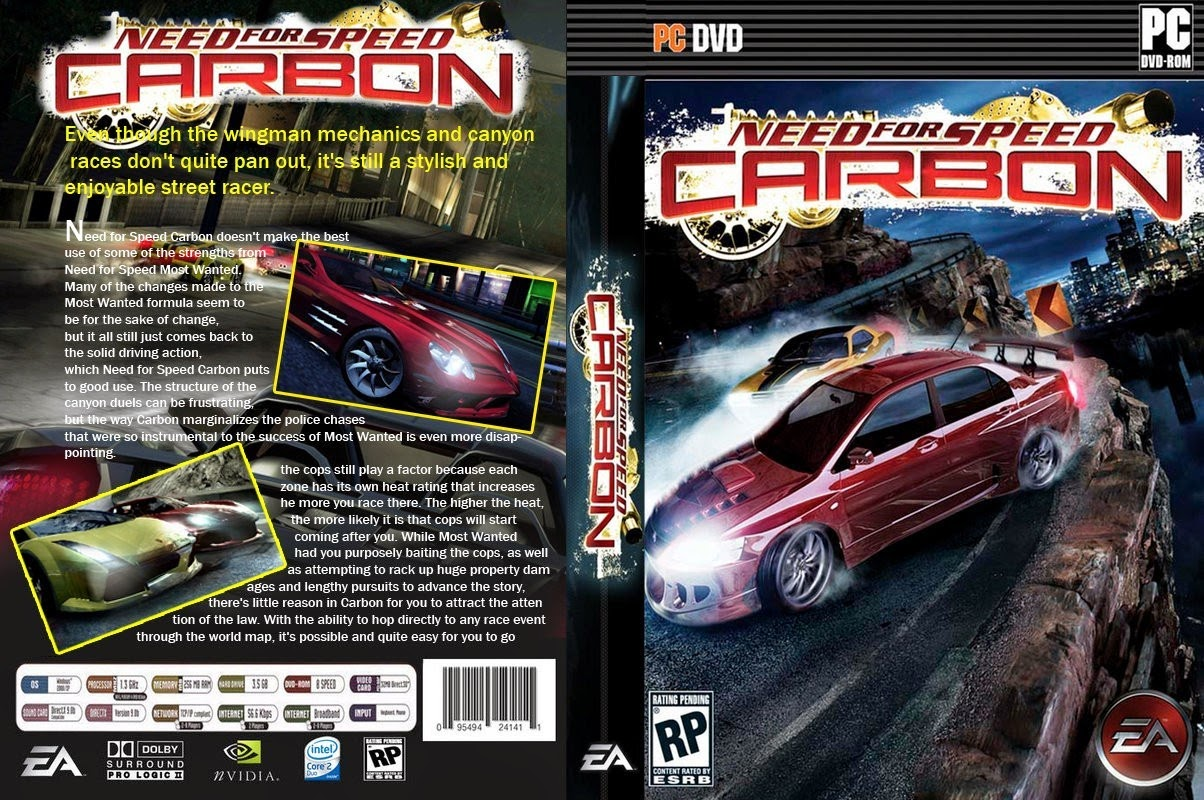 Plutâo Torrent: Download Need For Speed Carbon PC Game