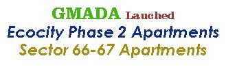 GMADA New Launch Flats Ecocity Phase 2