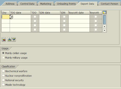 VD01 - Create Customer - Export Data