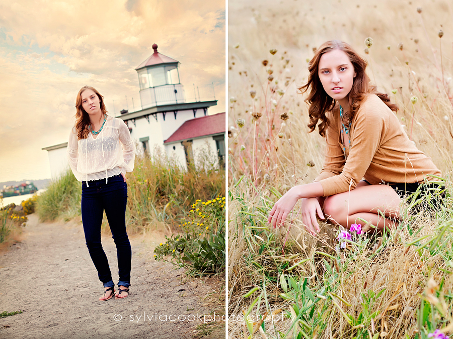 Seattle senior photo session, Discovery Park