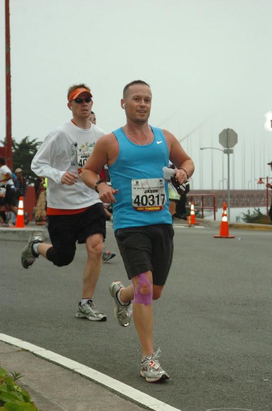 San Francisco Marathon runners 2012