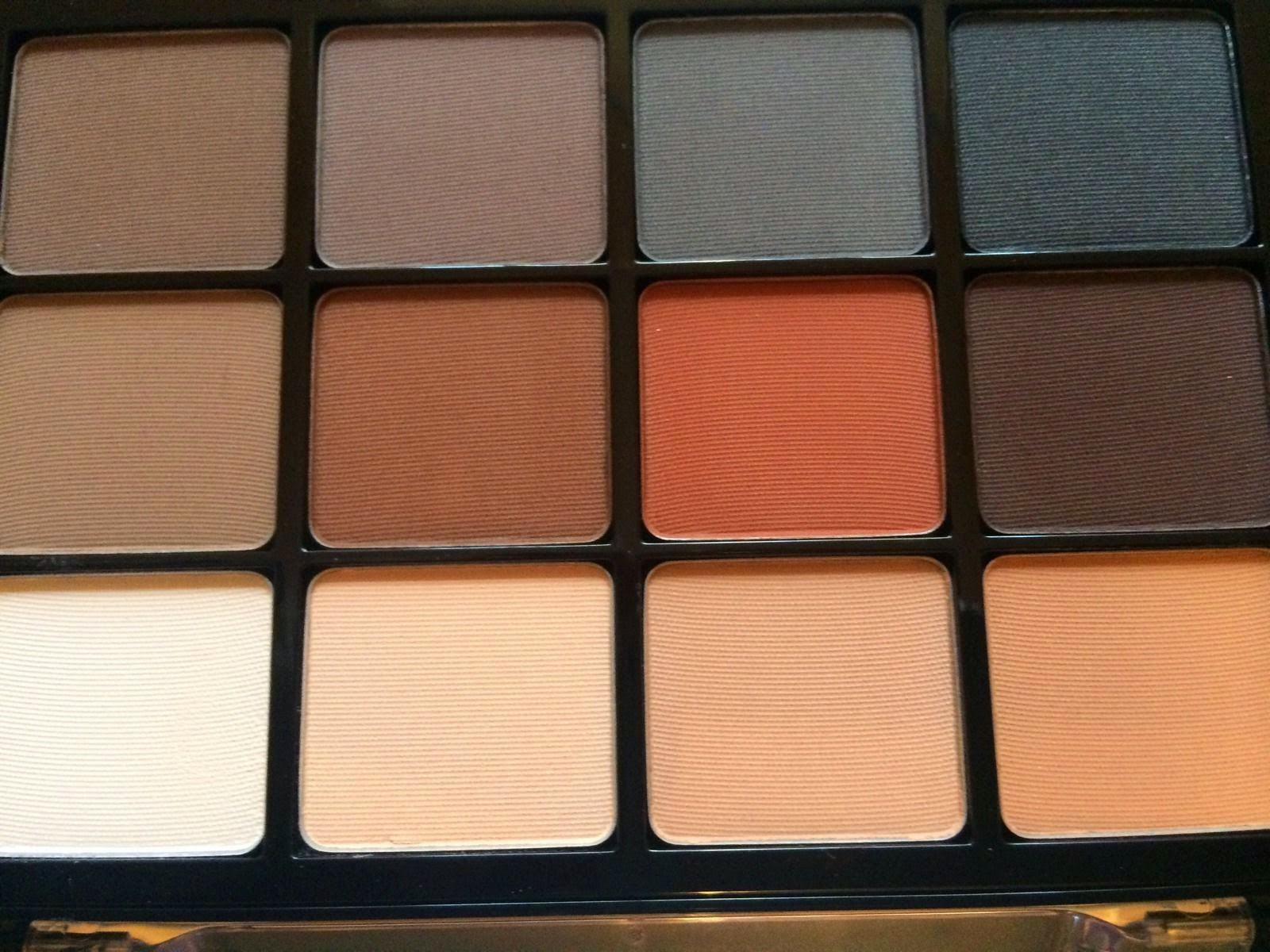 Viseart Palette My Lovely Fashionista 06 Paris Nudes 01 Neutral Matte