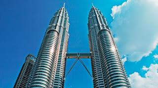 gedung menara petronas buatan samsung