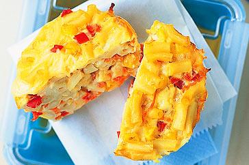 Macaroni And Vegetable Frittatas Recipe