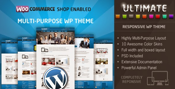Ultimate v3.3 - Themeforest Responsive WP Theme