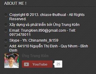 cách chèn nút Subscribe Youtube