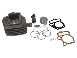HONDA WAVE 100/110 XRM 110  CYLINDER KIT 52MM W/ HI COMPRESSION PISTON