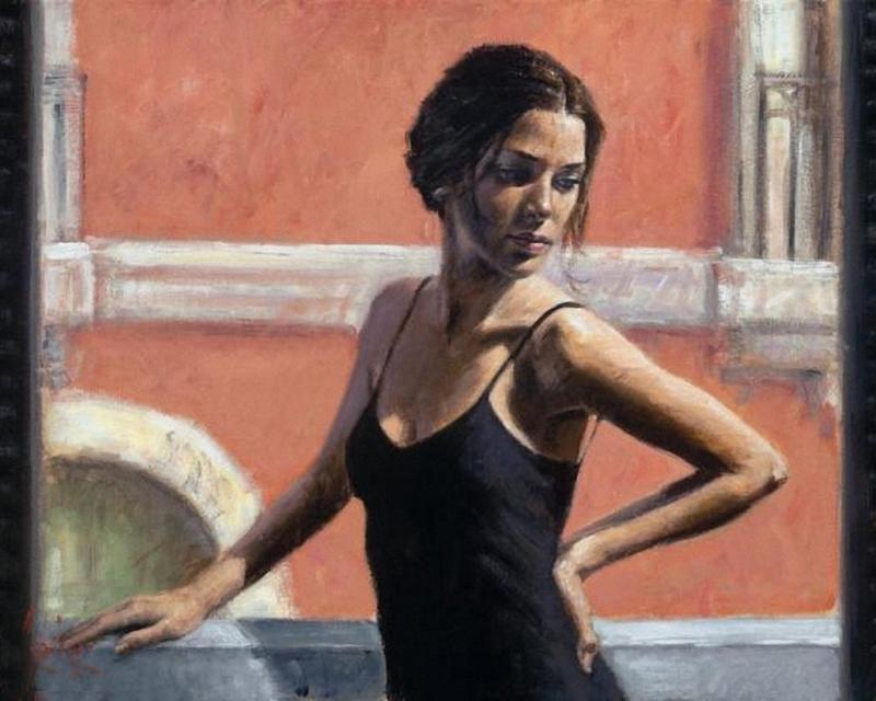 Fabian Perez 1967 ~ pintor figurativo argentino