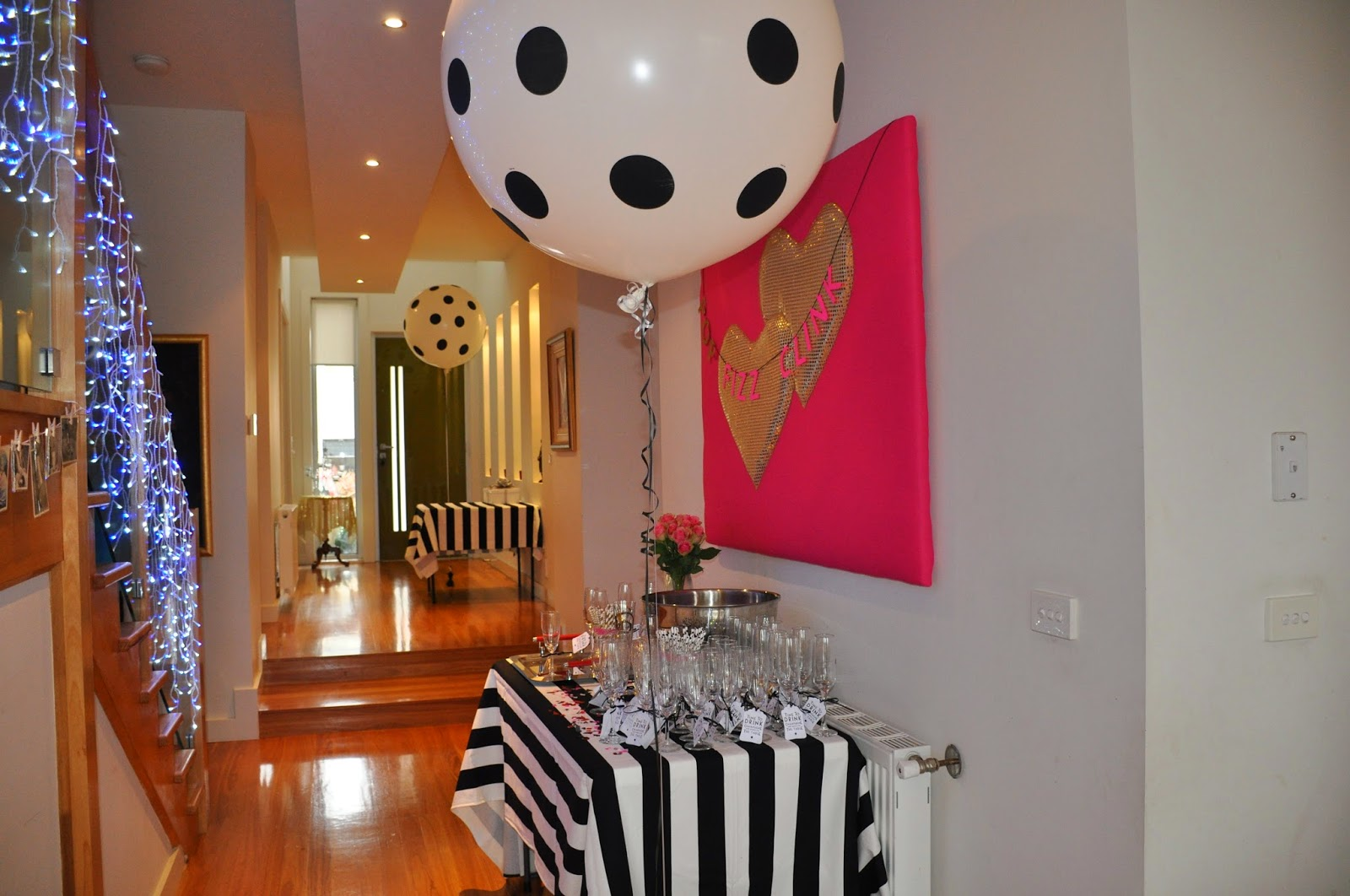 Decorating a modern home kate spade inspired birthday