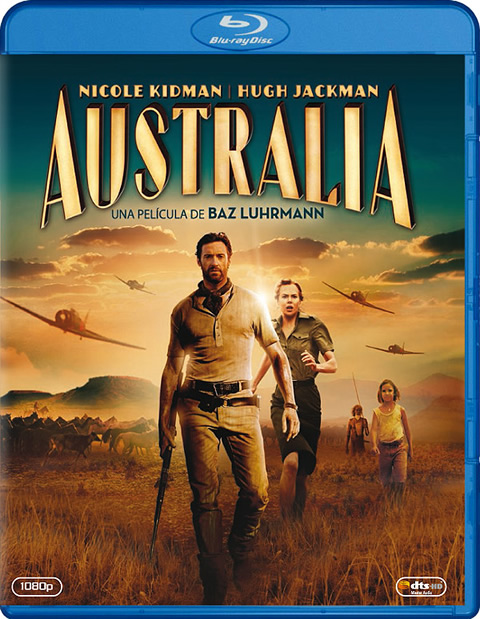 Australia (2008) m720p BDRip 4.3GB mkv Dual Audio AC3 5.1 ch