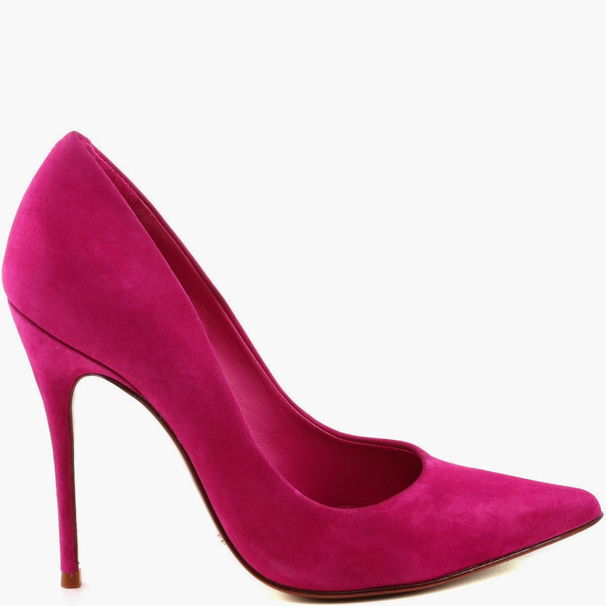 Schutz Pinktober pointed pump