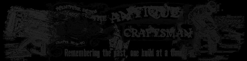 The Antique Craftsman Blog