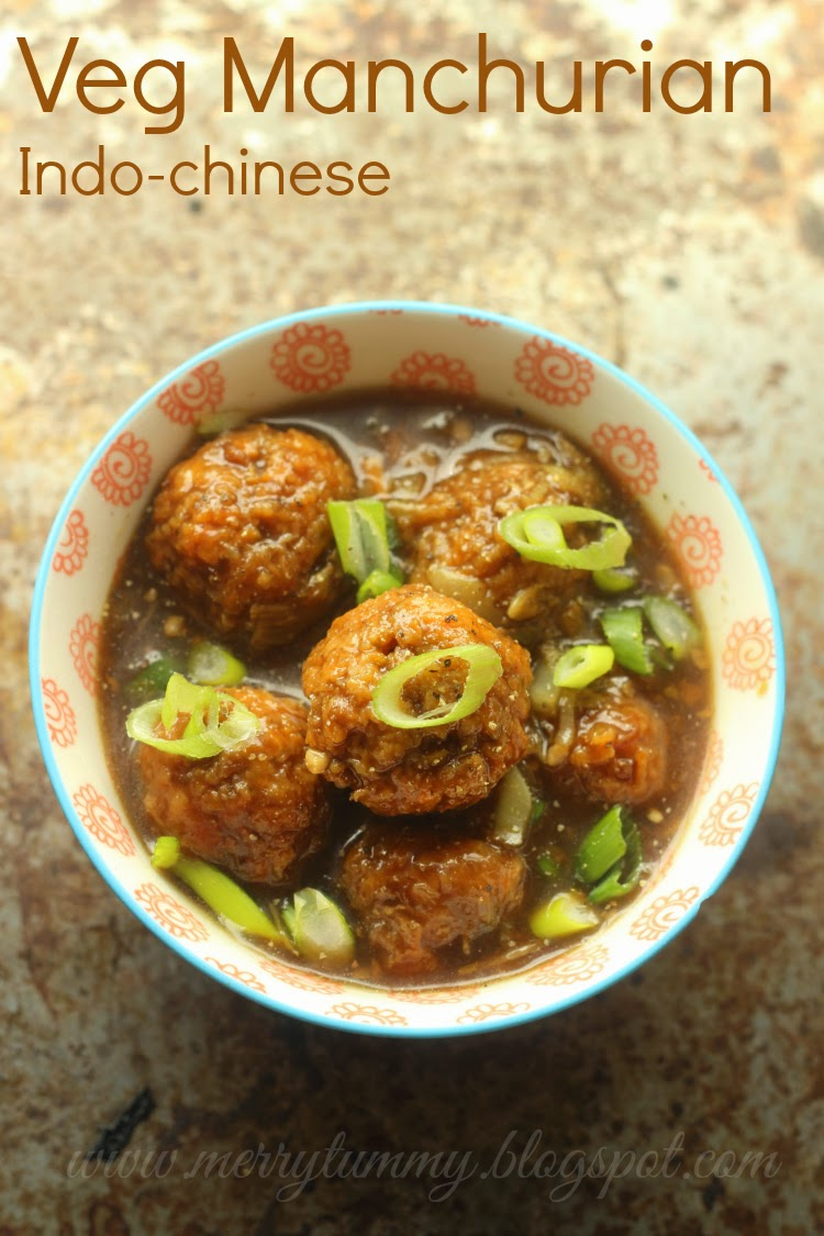 Merry tummy veg manchurian dry and with gravy indo chinese veg manchurian dry and with gravy indo chinese street food forumfinder Image collections