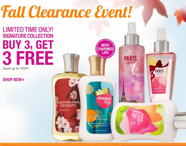Shophubusa Bath Amp Body Works Fall Clearance Sale Extended