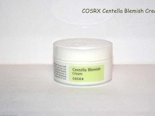 COSRX Centella Blemish cream - a multi functional spot treatment.