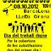 8 octubre: dia mundial del treball digne docent. Concentracions a Barcelona, Girona, Lleida...