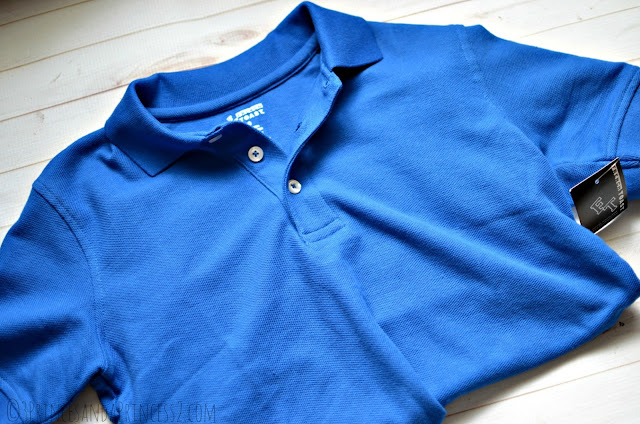 Royal Blue Polo by French Toast