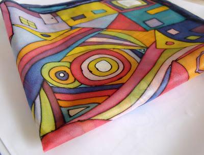 selyemkendő ajándék ötlet
