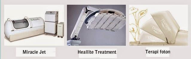 Peralatan after care di rumah sakit bedah plastik Wonjin