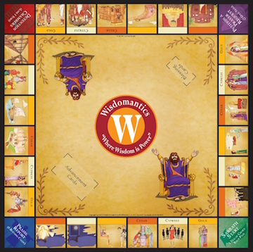 Wisdomantics board game