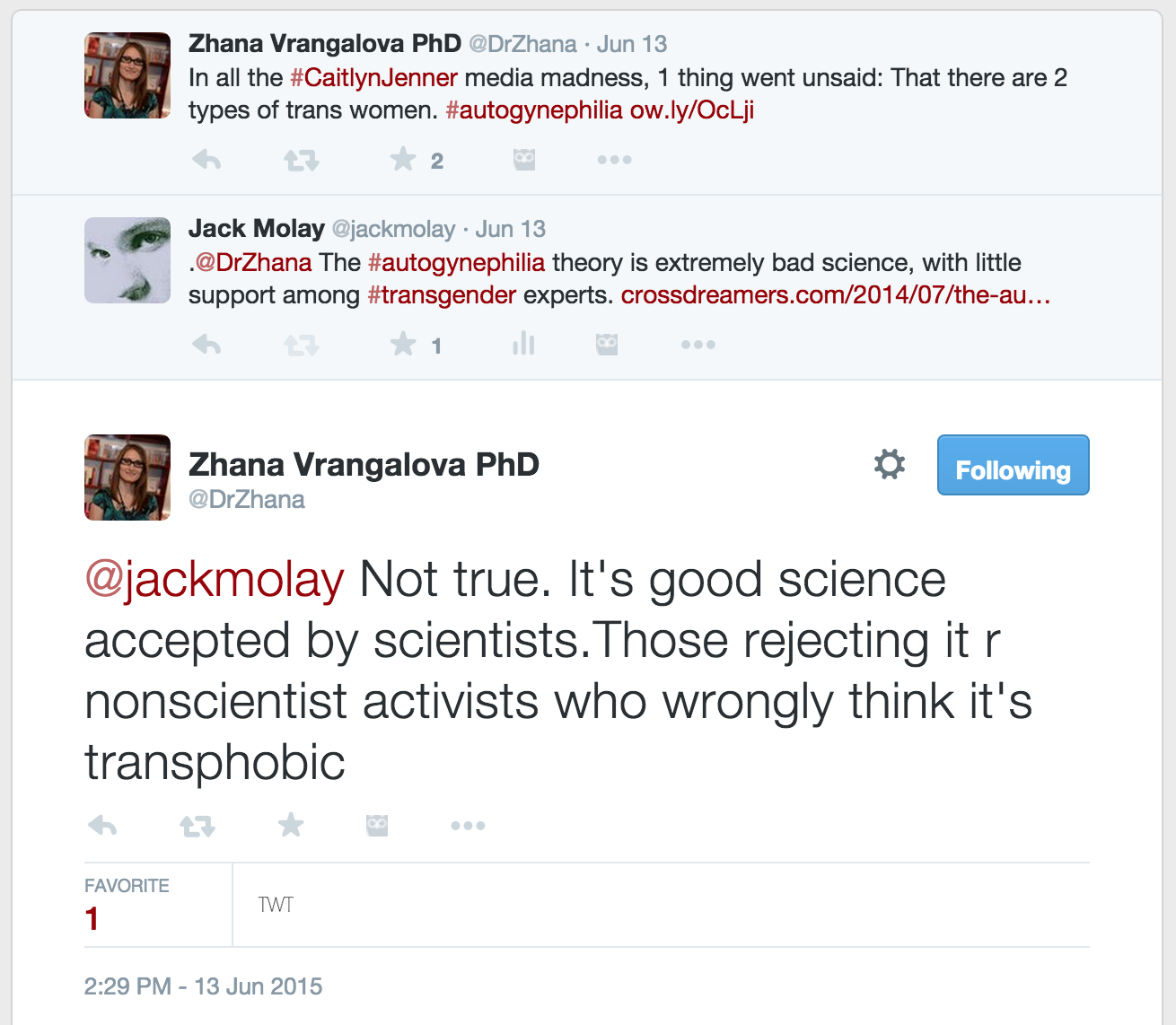 Crossdreamers what dr zhana vrangalova taught me about transphobia click to enlarge fandeluxe Gallery