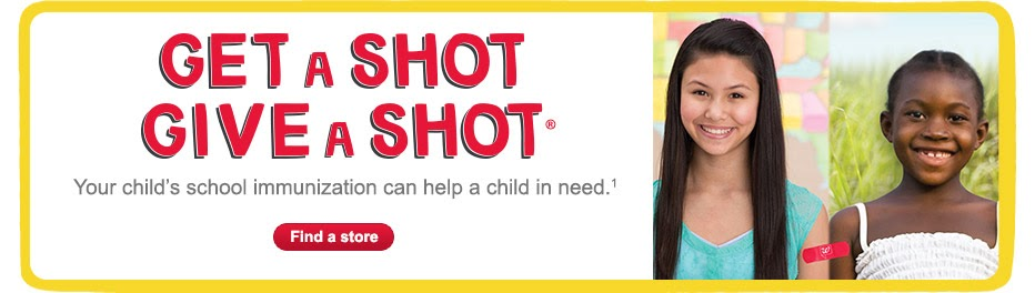 Shot@Life: It's Back to School Time #GiveAShot #Shop