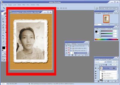 Cara Menggunakan Action Script Photoshop6
