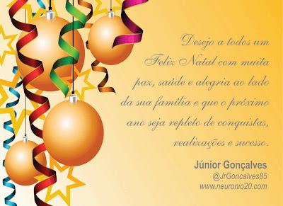 Cartão de Boas Festas
