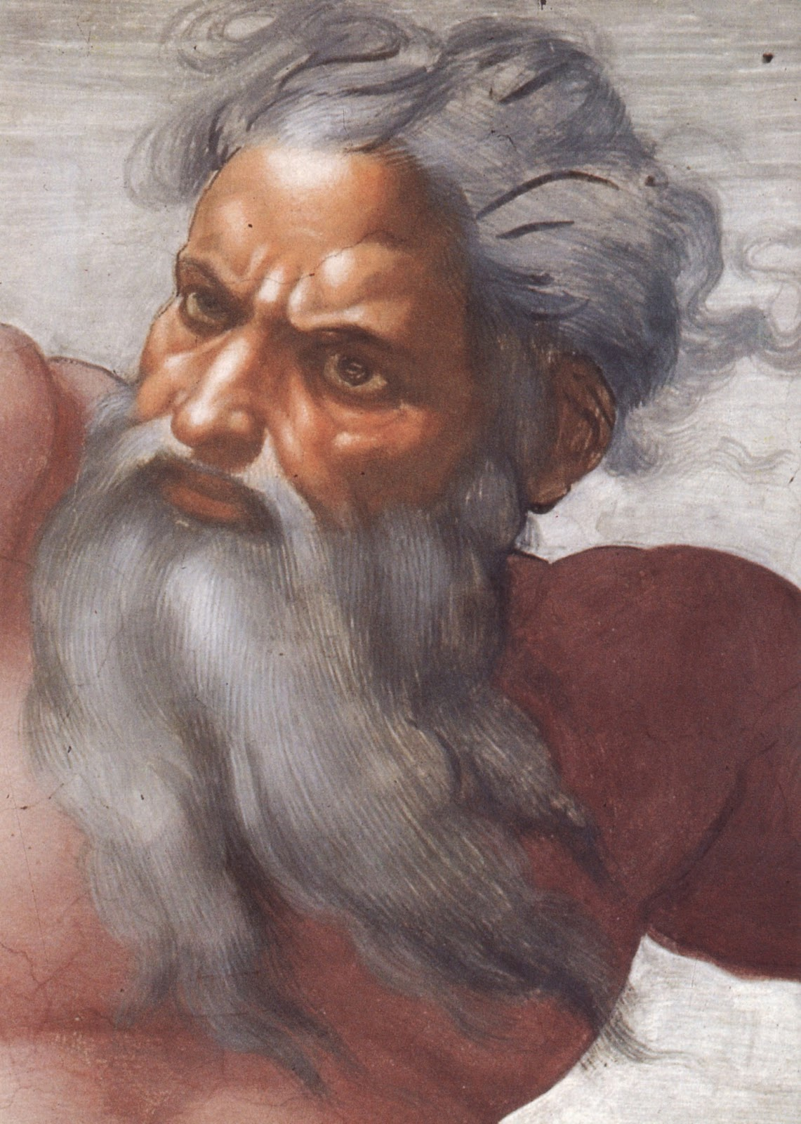 Un dermatólogo en el museo: La barba de Dios