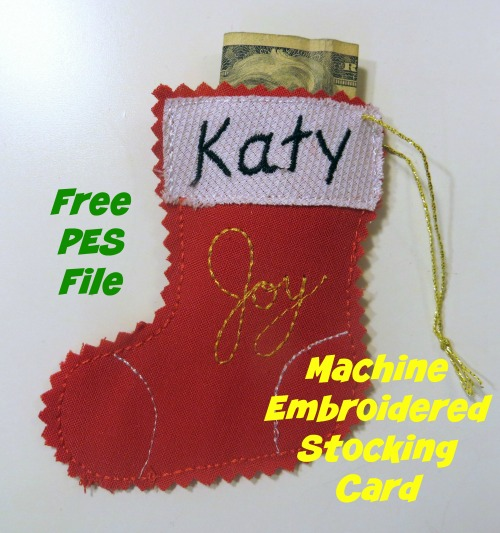 machine embroidered gifts