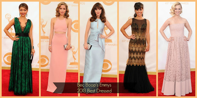 Emmys 2013 Best Dressed Fashion