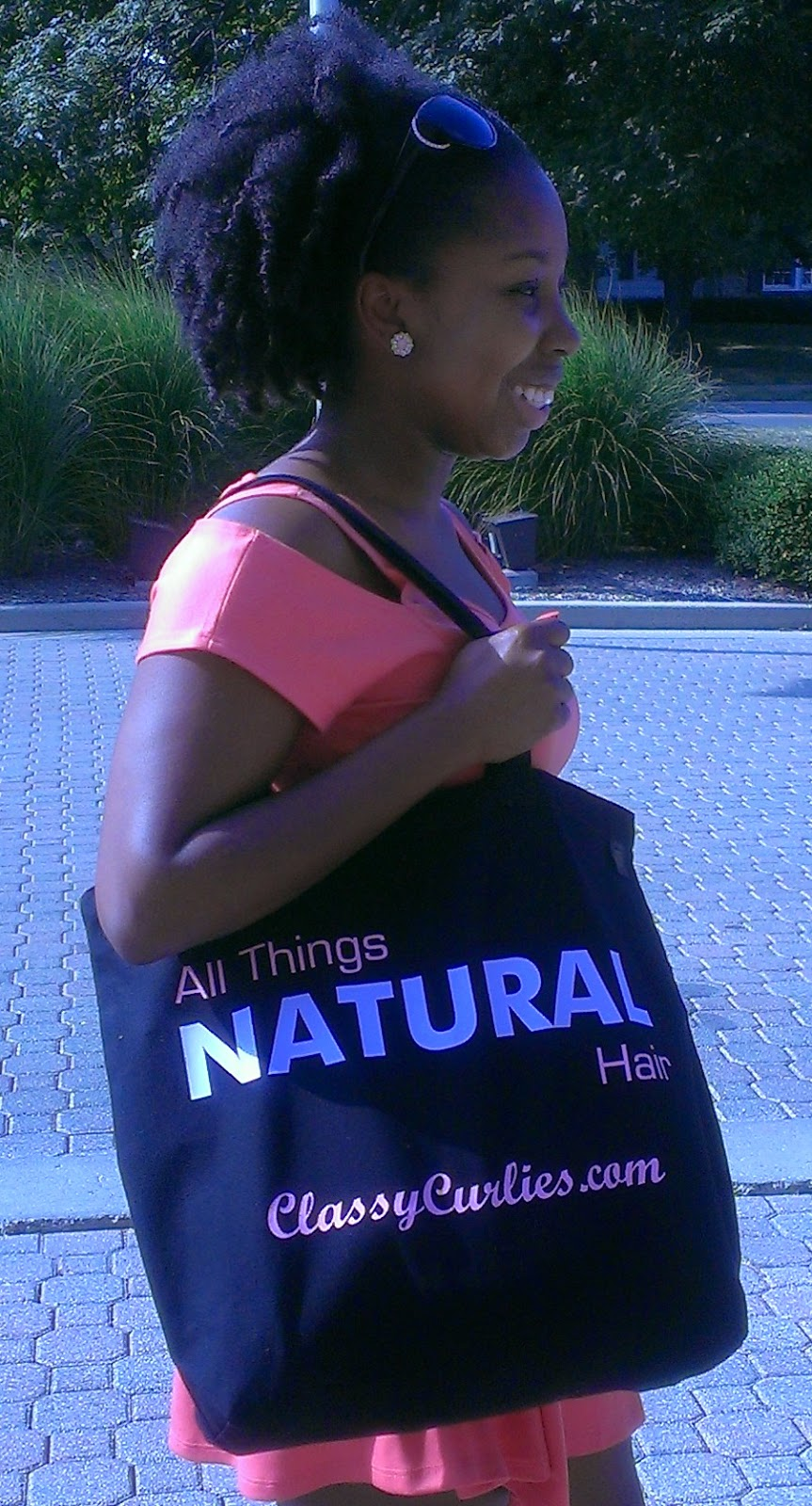 natural hair bag