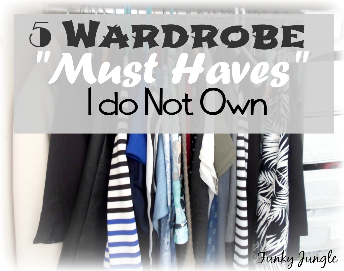 """There's no such thing as an universal """"must have when it comes to personal style - 5 Fashion Must Haves I Do Not Own - The Closet Conundrum VIII   Funky Jungle, fashion and personal style blog"""