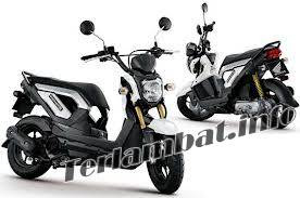 Honda Zoomer X Warna Putih