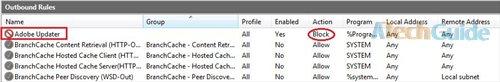 Block a Program with Windows Firewall
