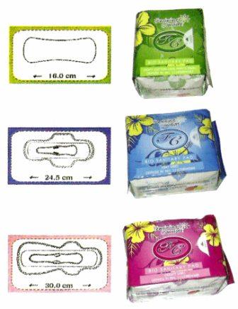 Jenis-jenis Avail Bio Sanitary Pad :