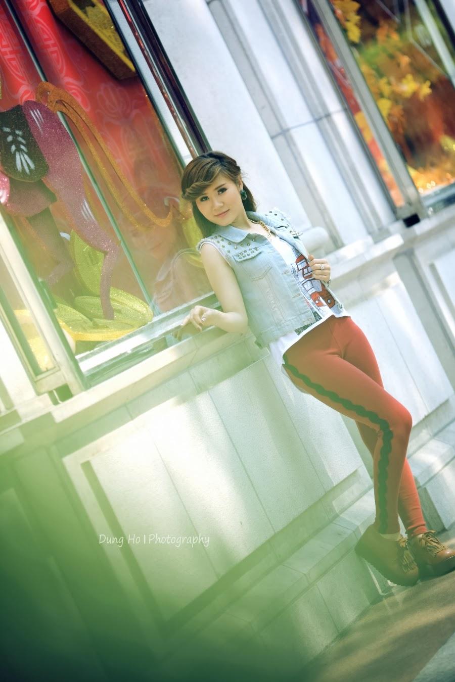 Girl xinh xuống phố