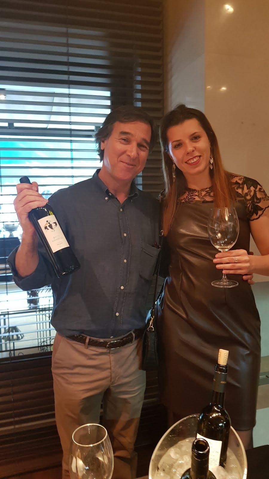 Momento com Pedro Araújo proprietário da Quinta do Ameal
