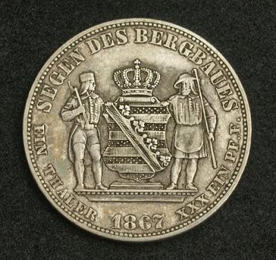 Germany Saxony coin Mining Thaler