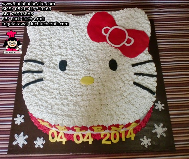 Kue Tart Hello Kitty 3D