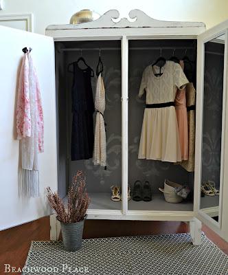 vintage wardrobe makeover