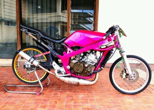 Modifikasi Kawasaki ninja R title=