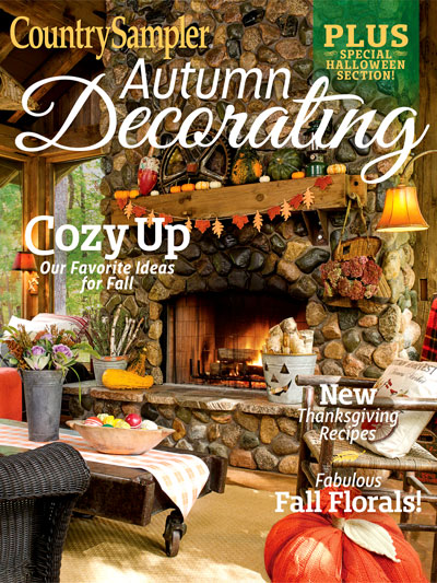 Featured in the 2018 Autumn Decorating issue of Country Sampler Magazinne