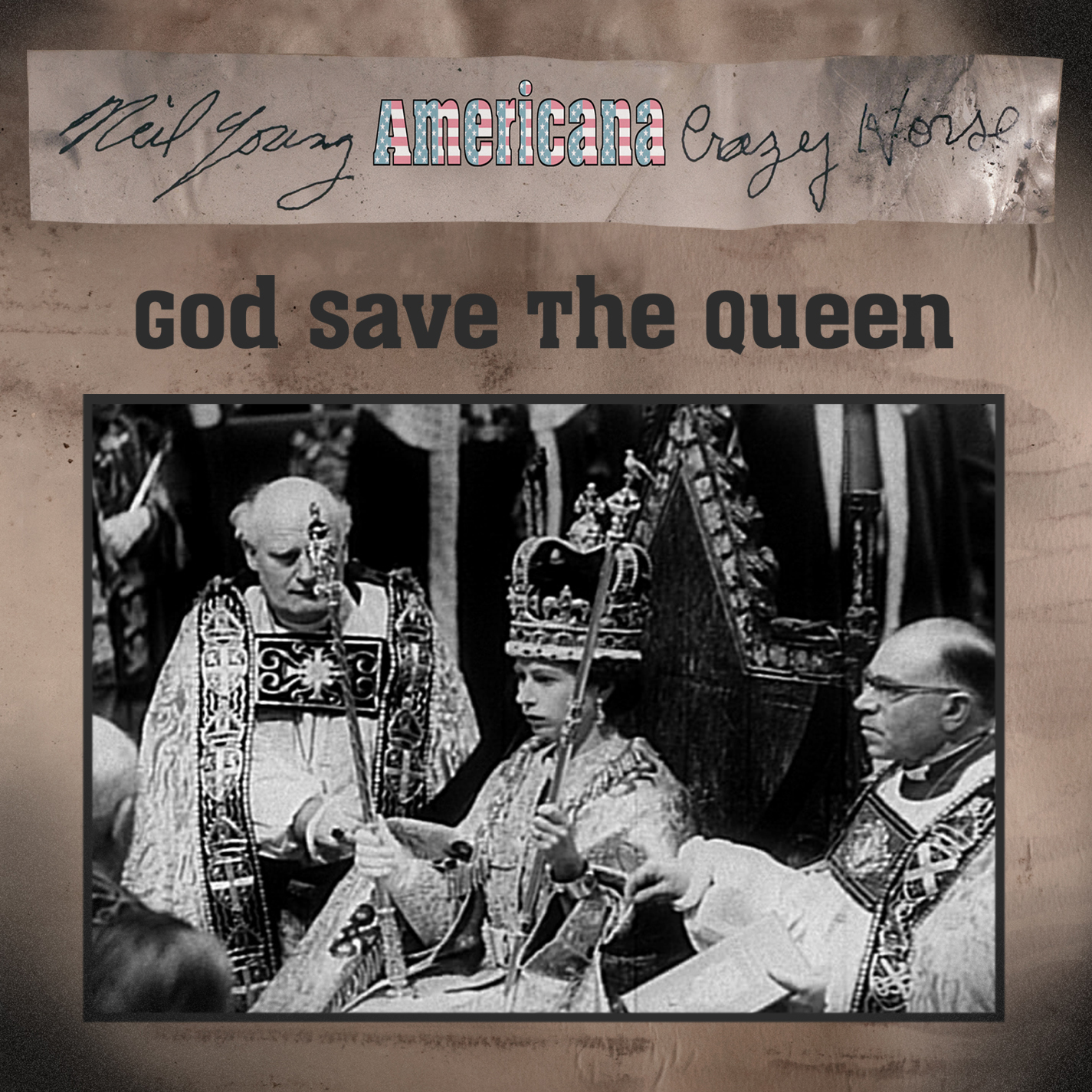 neil young news video debut god save the queen by neil young crazy horse. Black Bedroom Furniture Sets. Home Design Ideas