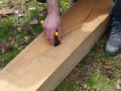 ... woodworking and outside of Scotland, the joint is called a scarf joint